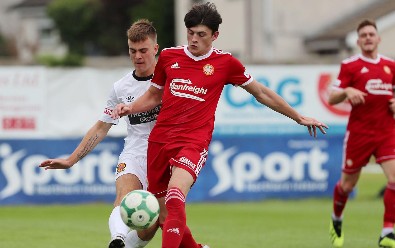 Striker Lee Bonis Signs for Portadown - Portadown Football Club