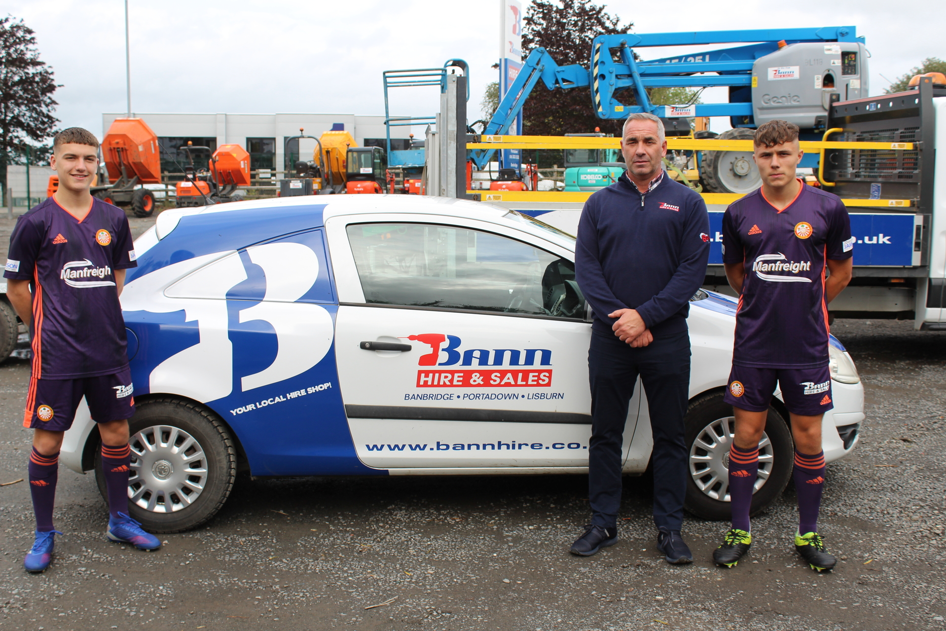 Bann Hire & Sales Continue to Partner PFC