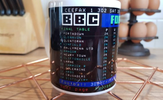 CeeFax Mug – 1989/90 League Table