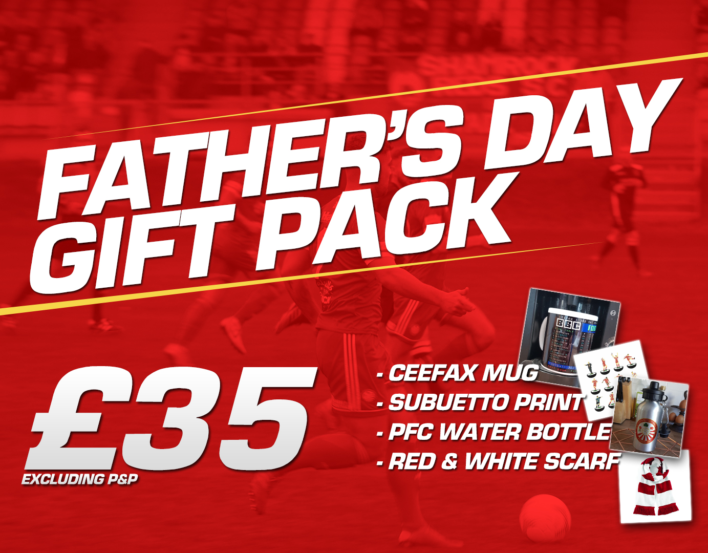 Fathers Day Pack - Portadown Football Club