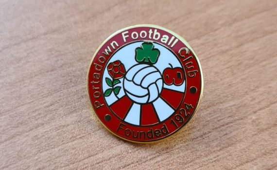 PFC Pin Badge – AVAILABLE IN STORE ONLY
