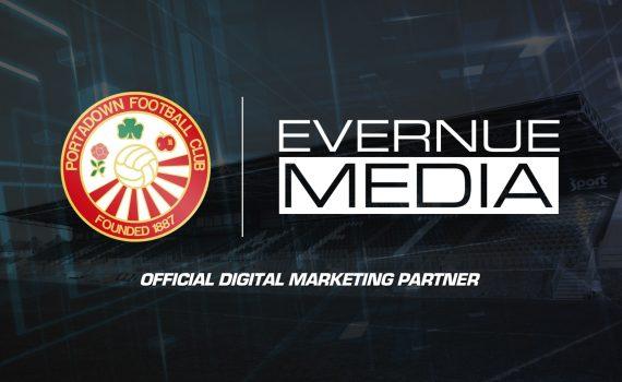 Evernue Media Sponsors Portadown FC
